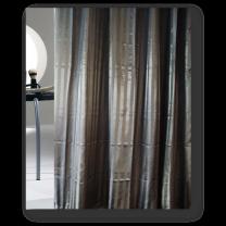 Engholm badeforhæng ´Hilton´ 180x220 cm - Sort