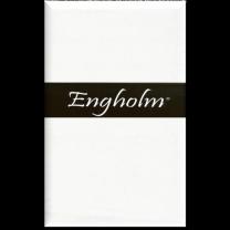 Engholm Basis Flonel faconlagen 90x200x30 cm - Hvid