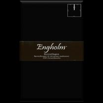 Engholm U80 - kuvertlagen i satin 180x200/25 cm - Sort