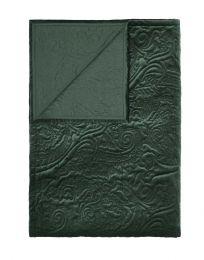 Essenza ´Roeby´ sengetæppe 270x265 cm - Pine green