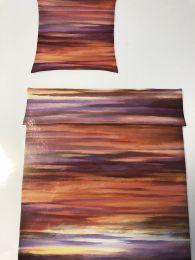 Covered Sengetøj ´Sky´ 135x200 cm - Rød/lilla