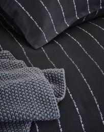 Marc O´Polo ´Jora´ sengetøj 200x200 cm - Sort