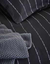 Marc O´Polo ´Jora´ sengetøj 140x200 cm - Sort