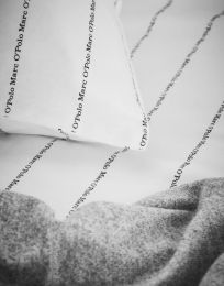 Marc O´Polo ´Jora´ sengetøj 200x200 cm - Hvid