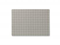 Juna dækkeserviet ´Hexagon´ 30x45 cm - Morning dove/lys grå