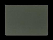 Juna ´Basic´ ensfarvet dækkeserviet 30x45 cm - Mørk grøn