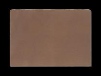 Juna ´Basic´ ensfarvet dækkeserviet 30x45 cm - Støvet rød