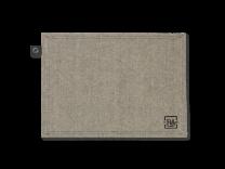 Juna ´Rå´ dækkesrvietter 2 stk - Mørk grå