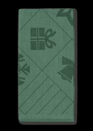 Juna ´Natale´ stofservietter 45x45 cm - Grøn/4 stk