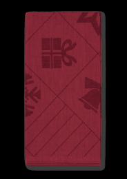 Juna ´Natale´ stofservietter 45x45 cm - Rød/4 stk