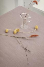 Juna ´Basic´ bomuldsdug 150x320 cm - Støvet rød