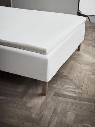 Juna Percale Kuvertlagen 180x200 cm - Hvid
