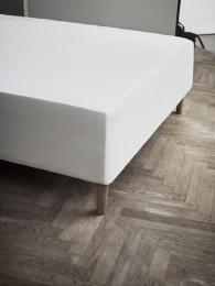 Juna Jersey stræklagen 140x200x45 cm - Hvid