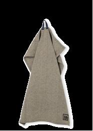 Juna ´Rå´ viskestykke 50x70 cm - Mørk grå