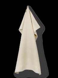 Juna ´Waffle´ viskestykke 50x70 cm - Sand