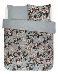 Essenza ´Lily´ sengesæt 200x200 cm - Støvet grøn