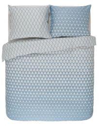 Esprit ´Mina´ sengesæt til dobbeltdyne 200x200 cm - Blå