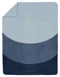 Esprit ´Moons´ fleece plaid 140x200 cm - Blå