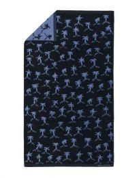Marc O´Polo ´Palms´ strandlagen 100x180 cm - Blå