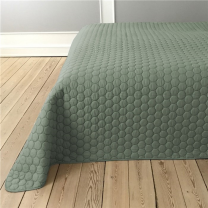Pönt by pagunette ´Pantomime´ sengetæppe 140x220 - Grøn