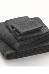 MARC O`POLO ´Timeless uni´ håndklæder 30x50 cm Ensfarvede - Antrasit