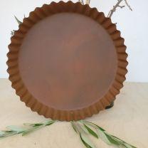 Madleys fad Ø30 cm - Rust