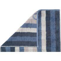Cawö ´Noblesse interior - Stripes´ håndklæde 80x150 cm - Blå
