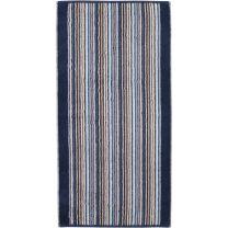 Cawö ´Remake´ håndklæde 70x140 cm - Blå/multi