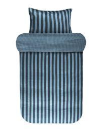 Marc O´Polo ´Classic stripe´ sengetøj 140x200 cm - Deep blue