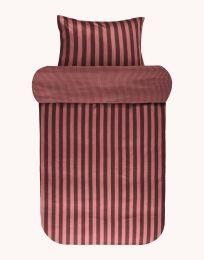 Marc O´Polo ´Classic stripe´ sengetøj 140x200 cm - Warm earth