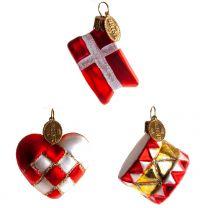 Brink Nordic Hjerte/Flag/Tromme 4 cm