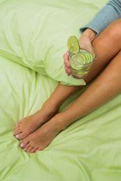 Turifrom ´Fredrik´ sengetøj 140x200 cm - Lys grøn