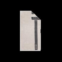 JOOP ´Infinity´ håndklæde 80x150 cm - Grå/stribe