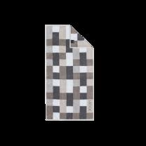 JOOP ´Infinity´ håndklæde 80x150 cm - Grå/mosaik/tern