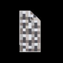 JOOP ´Infinity´ håndklæde 50x100 cm - Grå/mosaik/tern