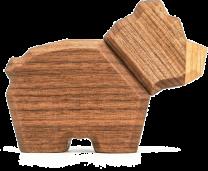 Fablewood ´Bjørn´ trædyr - Lille