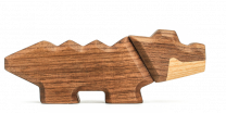 Fablewood ´Krokodille´ trædyr - Lille