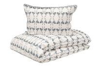 Boräs cotton ´Michiko´ sengetøj 140x200 cm - Blå