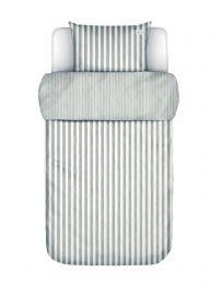 Marc O´Polo ´Mikkeli´ sengetøj 140x200 cm - Grå/hvid