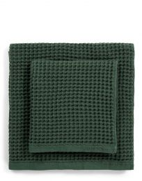 Marc O´Polo ´Mova´ håndklæde 50x100 cm - Mørkegrøn