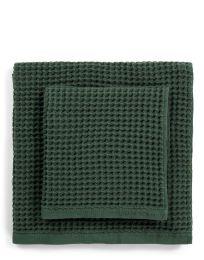 Marc O´Polo ´Mova´ håndklæde 70x140 cm - Mørkegrøn