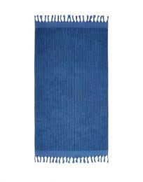 Marc O´Polo ´Nurmess´ strandlagen 100x180 cm - Blå