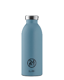 24Bottles ´Clima´ termoflaske 500 ml - Stone finish/Powder blue