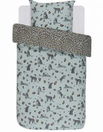 Covers & co ´Roar´ sengesæt 140x200 cm - Blå