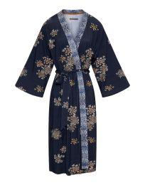Essenza ´Sarai Lauren Boheme´ kimono str S  - Indigo/blå