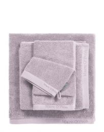 MARC O`POLO ´Timeless uni´ håndklæde 50x100 cm - Lavendel/lys