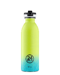 24Bottles ´Urban´ drikkeflaske 500 ml - Titan m/sportslåg