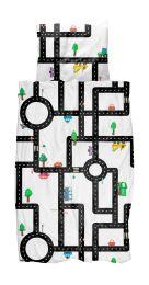 SNURK ´Traffic´ junior sengetøj 100x140 cm