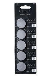 Uyuni Lighting Lithium Metal Batterier CR2450 - 5 pk.
