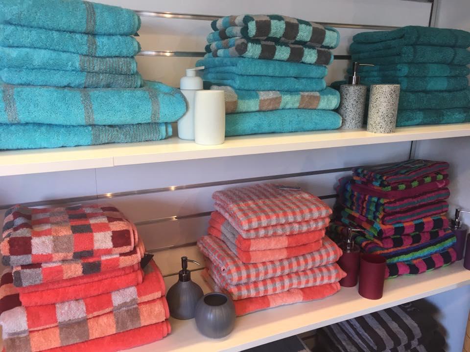 lækre bløde kvalitets håndklæder med god tørreevne